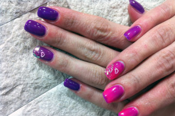 Geliranje nokti umjetni nokti zagreb