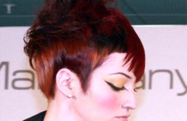 moderna kratka frizura