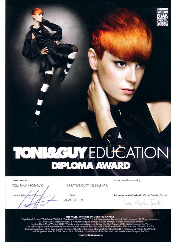 kreativno šišanje diploma